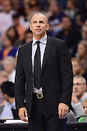 Nov 15, 2013; Phoenix, AZ, USA; Brooklyn Nets head coach Jason Kidd watches from the sidelines against the Phoenix Suns at US Airways Center. The Nets defeated the Suns 100-98 in overtime. Mandatory Credit: Jennifer Stewart-USA TODAY Sports