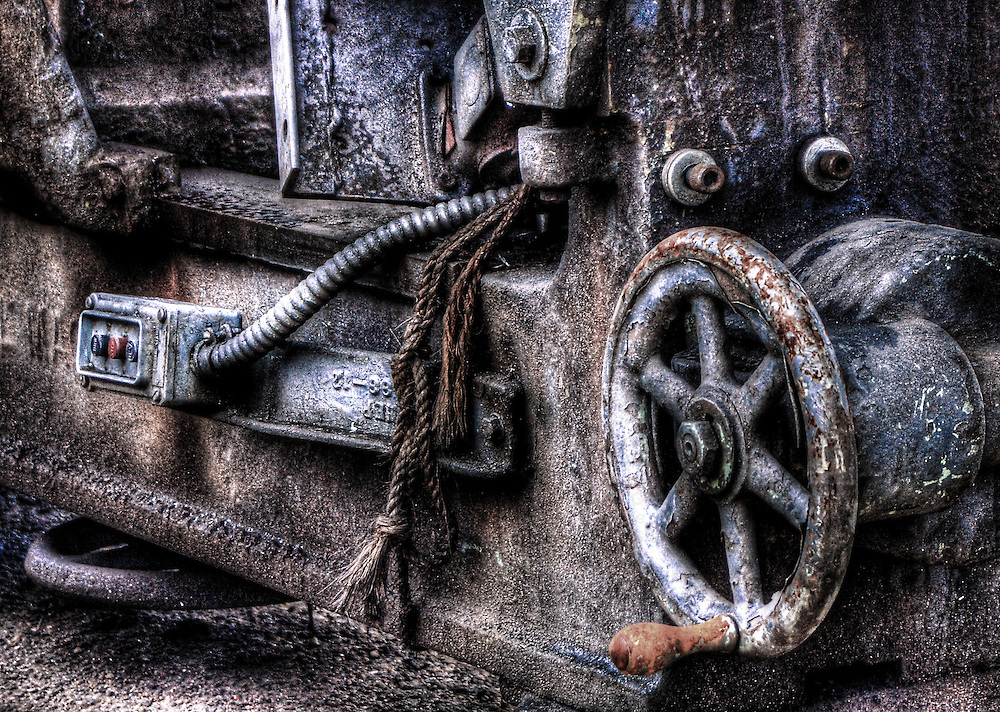An old lathe