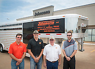 Dairy program trailer donated by Johnsons of Kingfisher, Exis and Sooner Trailers.