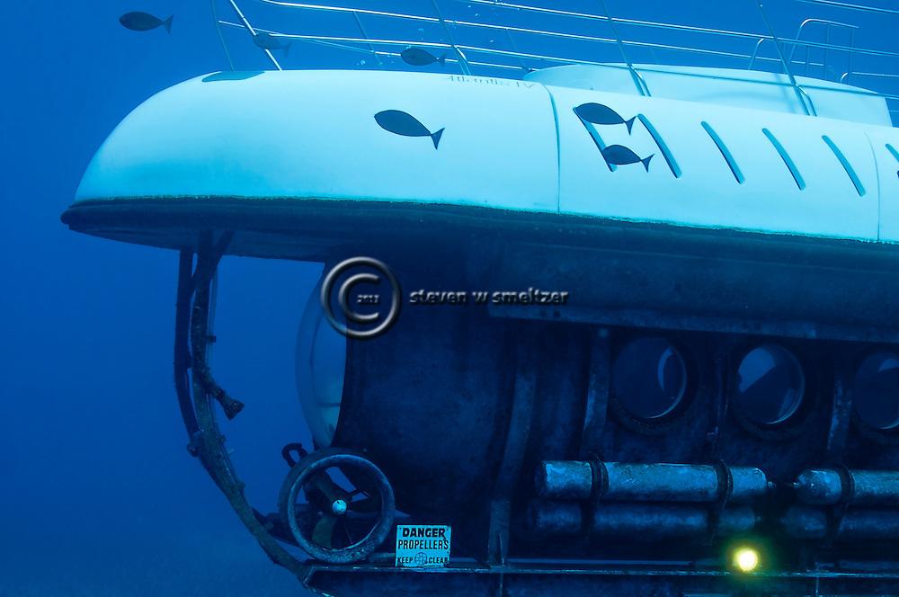 Atlantis Submarine, Bow View, Maui Hawaii