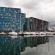 Harpa Concert Hall and Conference Center in Reykjavik, Iceland
