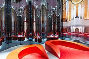 Venezia - 16. Mostra di Architettura. Padiglioni ai Giardini. Palazzo delle Esposizioni.  Odile Decq