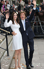 Sir Paul McCartney wedding