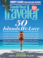 Conde Nast Traveler US Cover July 2010<br />