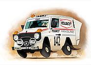 Jacky Ickx - Paris-Dakar G-Wagon