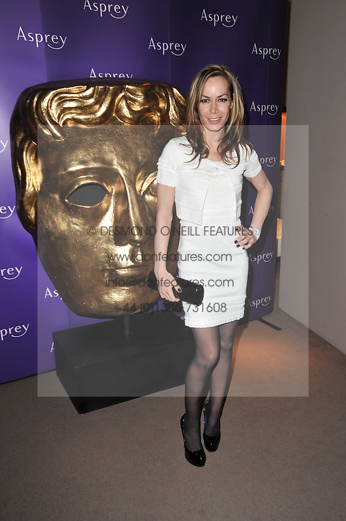 TARA PALMER-TOMKINSON at the BAFTA Nominees party 2011 held at Asprey, 167 New Bond Street, London on 12th February 2011.
