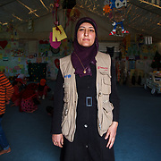 Reema, 31,  and her family fled Damascus for Jordan one year ago. Reema sold all of her gold before the journey, except the gold heart necklace her mother gave her when she gave birth to her first son, Adnan.<br />