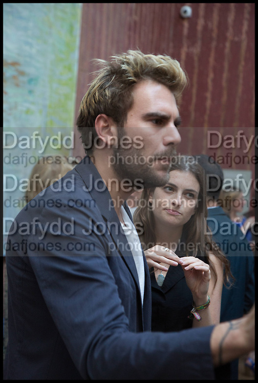 OSCAR HUMPHRIES; SAPHORA SMITH, Drinks party to launch this year's Frieze Masters.Hosted by Charles Saumarez Smith and Victoria Siddall<br />  Academicians' room - The Keepers House. Royal Academy. Piccadilly. London. 3 July 2014