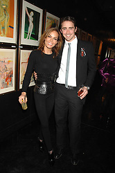 TARA PALMER-TOMKINSON  and actor LEE PACE at Andy & Patti Wong's Chinese new Year party held at County Hall and Dali Universe, London on 26th January 2008.<br />