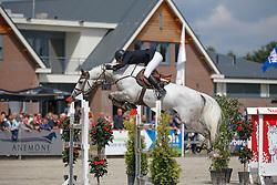 575 - Carrera - Kapteyn Richard <br /> 7 Jarige Finale Springen<br /> KWPN Paardendagen - Ermelo 2014<br /> © Dirk Caremans