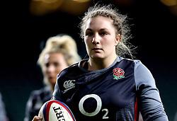 Amy Cokayne of England - Mandatory by-line: Robbie Stephenson/JMP - 04/02/2017 - RUGBY - Twickenham - London, England - England v France - Women's Six Nations