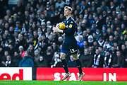 Will Huffer of Leeds United (13) in action during the EFL Sky Bet Championship match between Leeds United and Bristol City at Elland Road, Leeds, England on 24 November 2018.