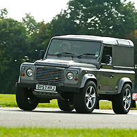 2007 Land Rover Defender 90, The 2009 World's Fastest Land Rover competition, Bruntingthorpe test track