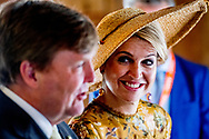 23-6-2017 MILAAN -  Koning Willem-Alexander en koningin Maxima  Bezoek aan Design Museum Triennale: Cultureel Erfgoed <br /> 4 daags staatsbezoek van Koning Willem-Alexander en koningin Maxima aan de Republiek Itali&euml; en de Heilige Stoel in Vaticaanstad .COPYRIGHT ROBIN UTRECHT<br /> <br /> 23-6-2017 MILAN - King Willem-Alexander and Queen Maxima Visit to the Design Museum Triennale: Cultural Heritage<br /> 4-day state visit of King Willem-Alexander and Queen Maxima to the Republic of Italy and the Holy See in Vatican City. COPYRIGHT ROBIN UTRECHT<br /> <br /> Bezoek aan Design Museum Triennale: Mode Bezoek aan Design Museum Triennale: Wat