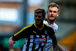 Alex Pearce of Derby County marks Jonathan Stead of Notts County - Mandatory by-line: Robbie Stephenson/JMP - 14/07/2018 - FOOTBALL - Meadow Lane - Nottingham, England - Notts County v Derby County - Pre-season friendly