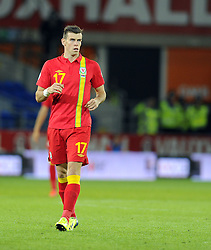 Gareth Bale of Wales (Real Madrid)  - Photo mandatory by-line: Joe Meredith/JMP - Tel: Mobile: 07966 386802 10/09/2013 - SPORT - FOOTBALL - Cardiff City Stadium - Cardiff -  Wales V Serbia- World Cup Qualifier