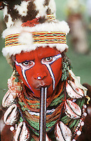 Tribe in Papua New Guinea.