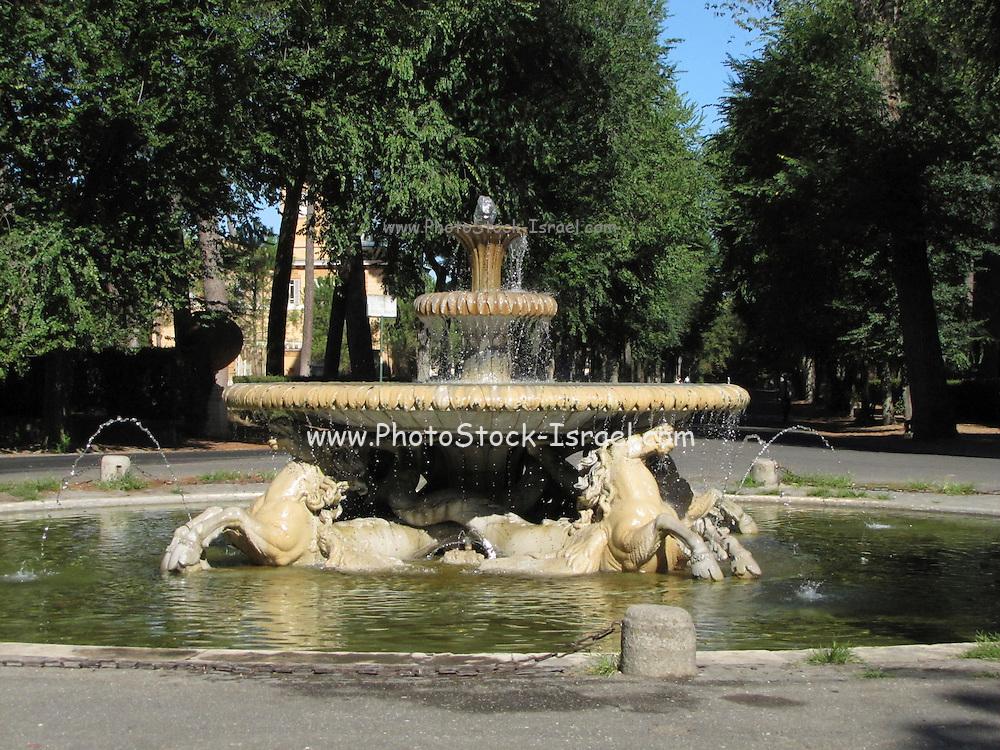 Italy, Rome, Villa Borghese