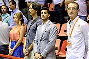 DESCRIZIONE : Forli DNB Final Four 2014-15 Npc Rieti BCC Agropoli<br /> GIOCATORE : Alessandro Marzoli Mario Boni<br /> CATEGORIA : vip<br /> SQUADRA : <br /> EVENTO : Campionato Serie B 2014-15<br /> GARA : Npc Rieti BCC Agropoli<br /> DATA : 13/06/2015<br /> SPORT : Pallacanestro <br /> AUTORE : Agenzia Ciamillo-Castoria/M.Marchi<br /> Galleria : Serie B 2014-2015 <br /> Fotonotizia : Forli DNB Final Four 2014-15 Npc Rieti BCC Agropoli