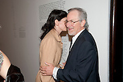 TARYN SIMON; STEVEN SPIELBERG, A Living man declared Dead and Other Chapters. Taryn Simon. Tate Modern, London. 24 May 2011. <br /> <br />  , -DO NOT ARCHIVE-© Copyright Photograph by Dafydd Jones. 248 Clapham Rd. London SW9 0PZ. Tel 0207 820 0771. www.dafjones.com.