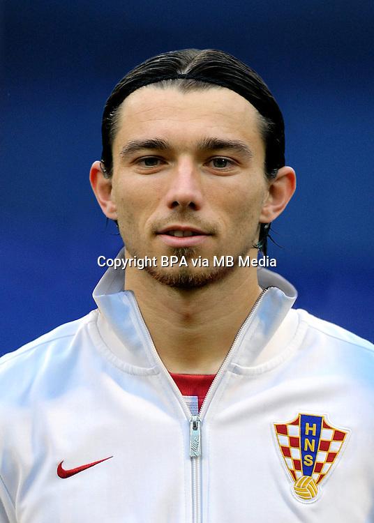 Football Fifa Brazil 2014 World Cup / <br /> Croatia National Team - <br /> Danijel Pranjic of Croatia