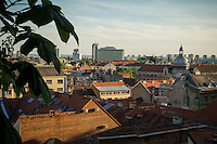 Zagreb, Croatia- May 7, 2015: The view from Gradec, which along with Kaptol, constitutes the nucleus of medieval Zagreb. CREDIT: Chris Carmichael for The New York Times