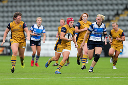 Carys Phillips of Bristol Ladies - Rogan Thomson/JMP - 08/10/2016 - RUGBY UNION - Kingston Park - Newcastle, England - Darlington Mowden Park Sharks v Bristol Ladies Rugby - RFU Women's Premiership.