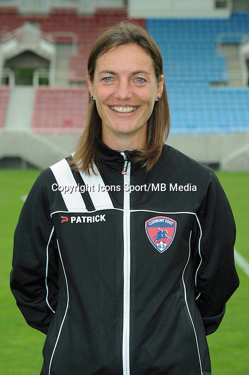 Corinne DIACRE - 30.07.2014 - Portraits officiels Clermont - Ligue 2<br /> Photo : Jean Paul Thomas / Icon Sport