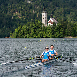 20180520: SLO, Rowing - Slovenian Youth Rowing National team at training sesion in Bled