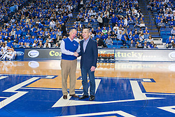 The University of Kentucky hosted the LSU Tigers, Saturday, March 05, 2016 at Rupp Arena in Lexington .