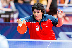 ROUSSET Magali in action during 15th Slovenia Open - Thermana Lasko 2018 Table Tennis for the Disabled, on May 10, 2018 in Dvorana Tri Lilije, Lasko, Slovenia. Photo by Ziga Zupan / Sportida