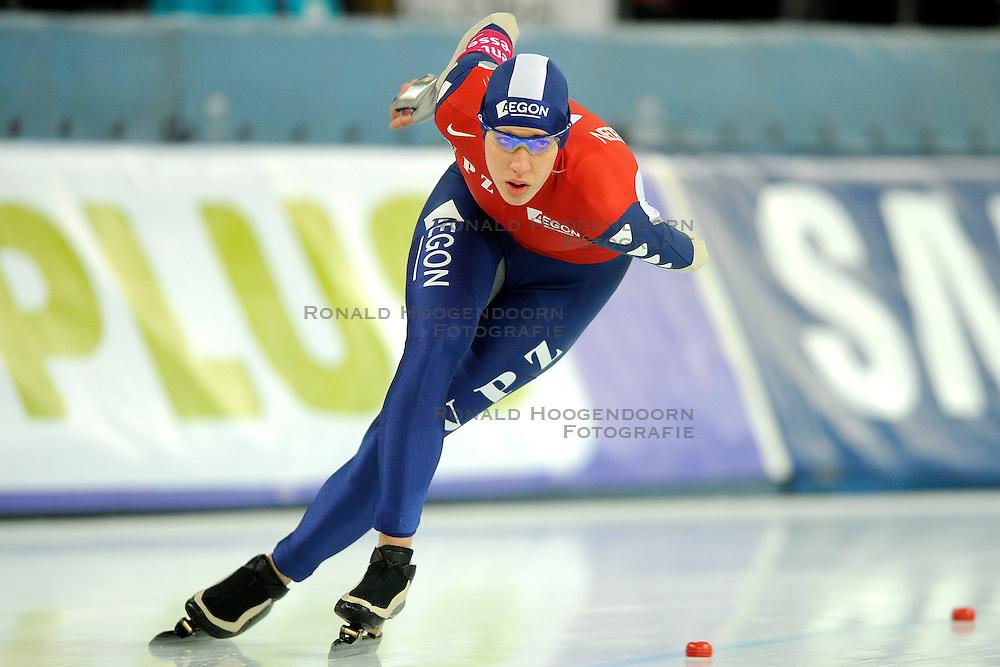 07-02-2009 SCHAATSEN: WK ALLROUND: HAMAR <br /> Jorien Voorhuis op de 3000 meter<br /> &copy;2009-WWW.FOTOHOOGENDOORN.NL