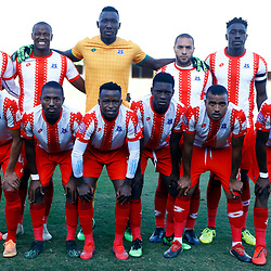 Maritzburg United F.C. during the Premier Soccer League (PSL) promotion play-off  match between  Royal Eagles and Maritzburg United F.C. at the Chatsworth Stadium Durban.South Africa,29,05,2019