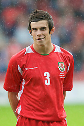 WREXHAM, WALES - Wednesday, August 20, 2008: Wales' Gareth Bale before the UEFA Under 21 European Championship Qualifying Group 10 match against Romania at the Racecourse Ground. (Photo by David Tickle/Propaganda)