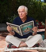 Dick Van Dyke _at home