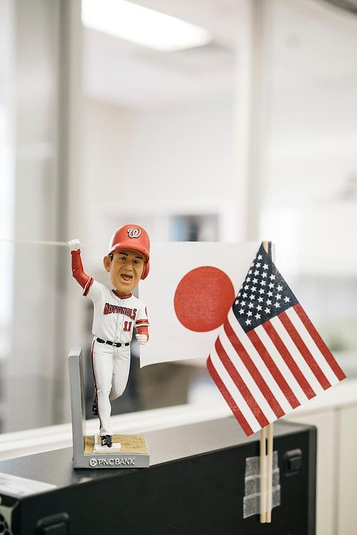 Office details. Washington Nationals baseball player Jordan Zimmermann.