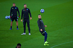 LIVERPOOL, ENGLAND - Monday, December 10, 2018: SSC Napoli's Marek Hamšík during a training session at Anfield ahead of the UEFA Champions League Group C match between Liverpool FC and SSC Napoli. (Pic by David Rawcliffe/Propaganda)