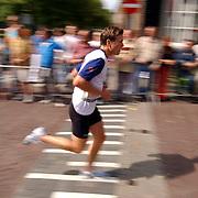 Kwart triathlon van Weesp 2004,