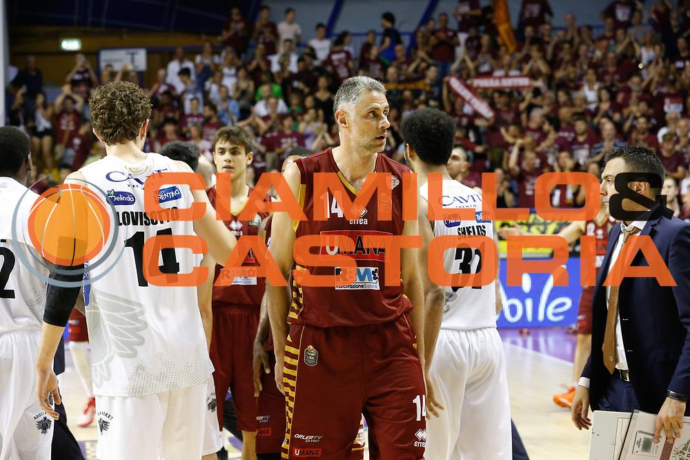 Tomas Ress<br /> Umana Reyer Venezia - Dolomiti Energia Aquila Basket Trento<br /> Lega Basket Serie A 2016/17 Finali Gara 02<br /> Venezia, 12/06/2017<br /> Foto Ciamillo-Castoria / M. Brondi