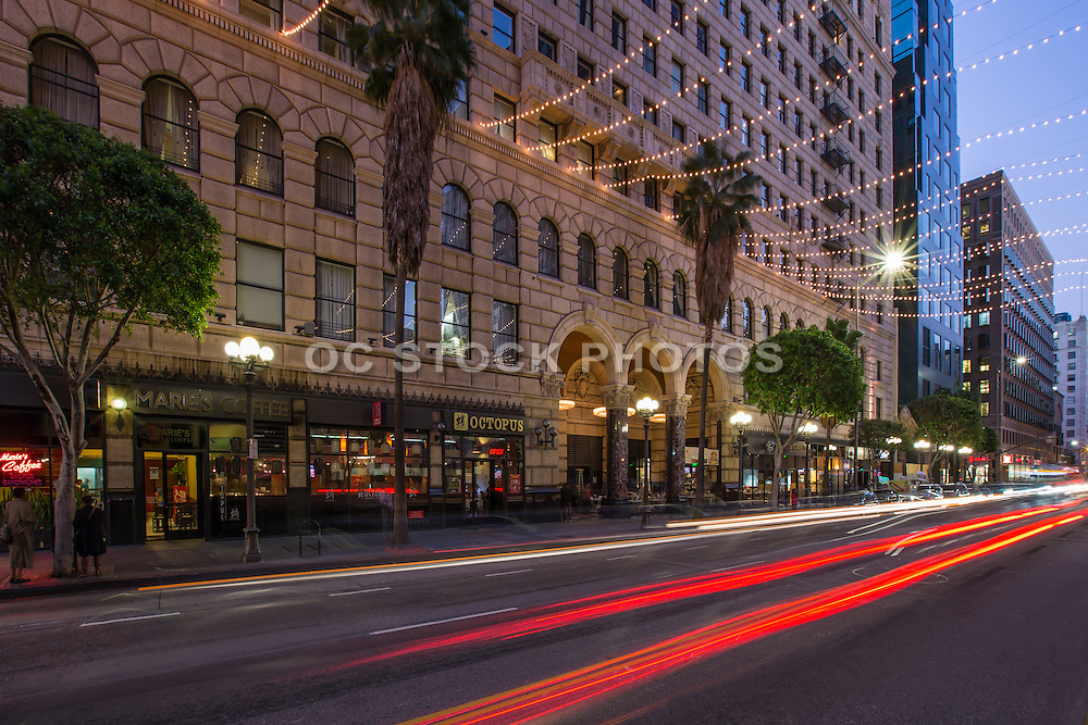 The Roosevelt Apartment Building Downtown Los Angeles California