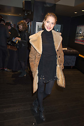 TESS WARD at the Al Films and Warner Music Screening of Kill Your Friends held at the Curzon Soho Cinema, 99 Shaftesbury Avenue, London on 27th October 2015.
