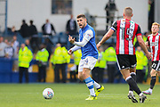 Sheffield Wednesday forward Gary Hooper (14) during the EFL Sky Bet Championship match between Sheffield Wednesday and Sheffield Utd at Hillsborough, Sheffield, England on 24 September 2017. Photo by Phil Duncan.