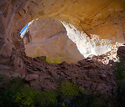 Jacob Hamblin Arch, along Coyote Creek, Coyote Gulch, Grand Staircase-Escalante National Monument, Kane County, Utah
