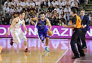 DESCRIZIONE : Roma Lega A 2013-14 <br /> Quarti di finale GARA 3<br /> Acea Virtus Roma - Acqua Vitasnella Cantu<br /> GIOCATORE : Pietro Aradori<br /> CATEGORIA : contropiede palleggio <br /> SQUADRA : Acqua Vitasnella Cantu<br /> EVENTO : Campionato Lega A 2013-2014 <br /> GARA : Acea Virtus Roma - Acqua Vitasnella Cantu<br /> DATA : 24/05/2014<br /> SPORT : Pallacanestro <br /> AUTORE : Agenzia Ciamillo-Castoria/N. Dalla Mura<br /> Galleria : Lega Basket A 2013-2014  <br /> Fotonotizia : Roma Lega A 2013-14 Acea Virtus Roma - Acqua Vitasnella Cantu