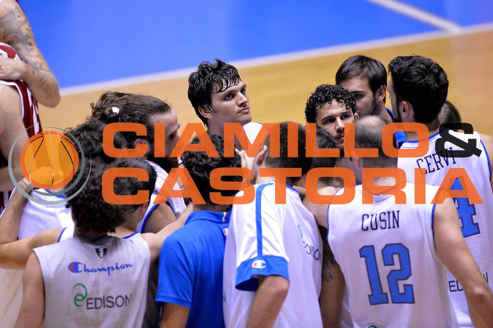 DESCRIZIONE : Cagliari Qualificazione Eurobasket 2015 Qualifying Round Eurobasket 2015 Italia Russia Italy Russia<br /> GIOCATORE : Team<br /> CATEGORIA : Delusione<br /> EVENTO : Cagliari Qualificazione Eurobasket 2015 Qualifying Round Eurobasket 2015 Italia Russia Italy Russia<br /> GARA : Italia Russia Italy Russia<br /> DATA : 24/08/2014<br /> SPORT : Pallacanestro<br /> AUTORE : Agenzia Ciamillo-Castoria/Max.Ceretti<br /> Galleria: Fip Nazionali 2014<br /> Fotonotizia: Cagliari Qualificazione Eurobasket 2015 Qualifying Round Eurobasket 2015 Italia Russia Italy Russia<br /> Predefinita :