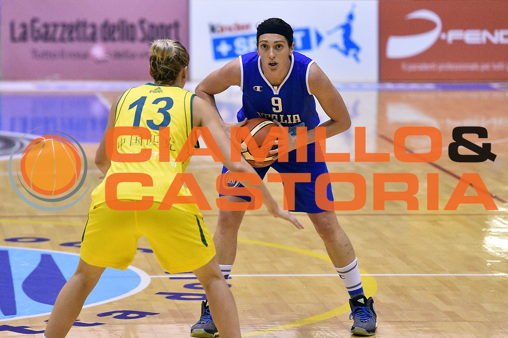 DESCRIZIONE : Caorle Amichevole Pre Eurobasket 2015 Nazionale Italiana Femminile Senior Italia Australia Italy Australia<br /> GIOCATORE : Ilaria Zanoni<br /> CATEGORIA : tecnica<br /> SQUADRA : Italia Italy<br /> EVENTO : Amichevole Pre Eurobasket 2015 Nazionale Italiana Femminile Senior<br /> GARA : Italia Australia Italy Australia<br /> DATA : 30/05/2015<br /> SPORT : Pallacanestro<br /> AUTORE : Agenzia Ciamillo-Castoria/GiulioCiamillo<br /> Galleria : Nazionale Italiana Femminile Senior<br /> Fotonotizia : Caorle Amichevole Pre Eurobasket 2015 Nazionale Italiana Femminile Senior Italia Australia Italy Australia<br /> Predefinita :