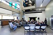 Remise officielle du Prix d'excellence en architecture attribué par l'Ordre des architectes du Québec aux architectes en consortium Marosi Troy | Jodoin Lamarre Pratte | Labbé ainsi qu'à leur client, l'Université de Sherbrooke, pour la réalisation de l'édifice du Campus de Longueuil. à  Université de Sherbrooke  / Longeuil / Canada / 2011-11-10, © Photo Marc Gibert / adecom.ca