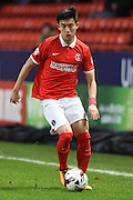 Charlton Athletic defender Yun Suk-Young during the Sky Bet Championship match between Charlton Athletic and Milton Keynes Dons at The Valley, London, England on 8 March 2016. Photo by Martin Cole.
