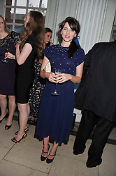 OPHELIA LOVIBOND at the English National Ballet Summer Party held at The Orangery, Kensington Palace, London on 27th June 2012.