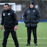 St Johnstone boss Tommy Wright pictured in training this morning ahead of the New Years Day game against Aberdeen...30.12.14<br /> Picture by Graeme Hart.<br /> Copyright Perthshire Picture Agency<br /> Tel: 01738 623350  Mobile: 07990 594431